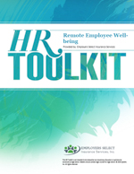 HR Toolkit - Remote Employee Well-being